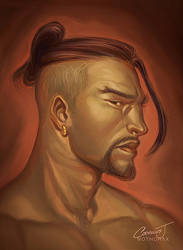 Hanzo by catchingspiders