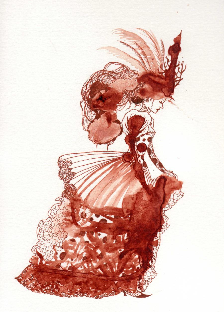 Calm Down, Menstrual Blood Art Isn't a Big Deal