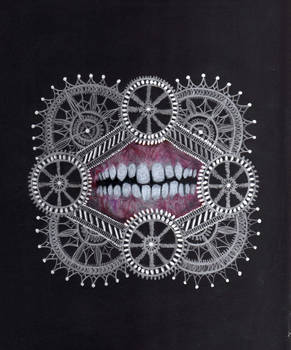 Teeth with Silver