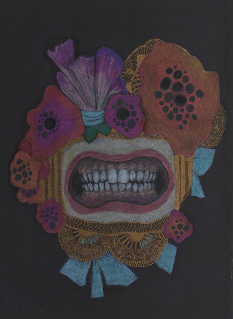 Fancy Teeth by pink-porcupine