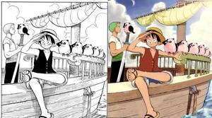 OP_manga_colored_by_Bayko by Bayko