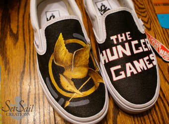 Hunger Games Shoes by Hellasure