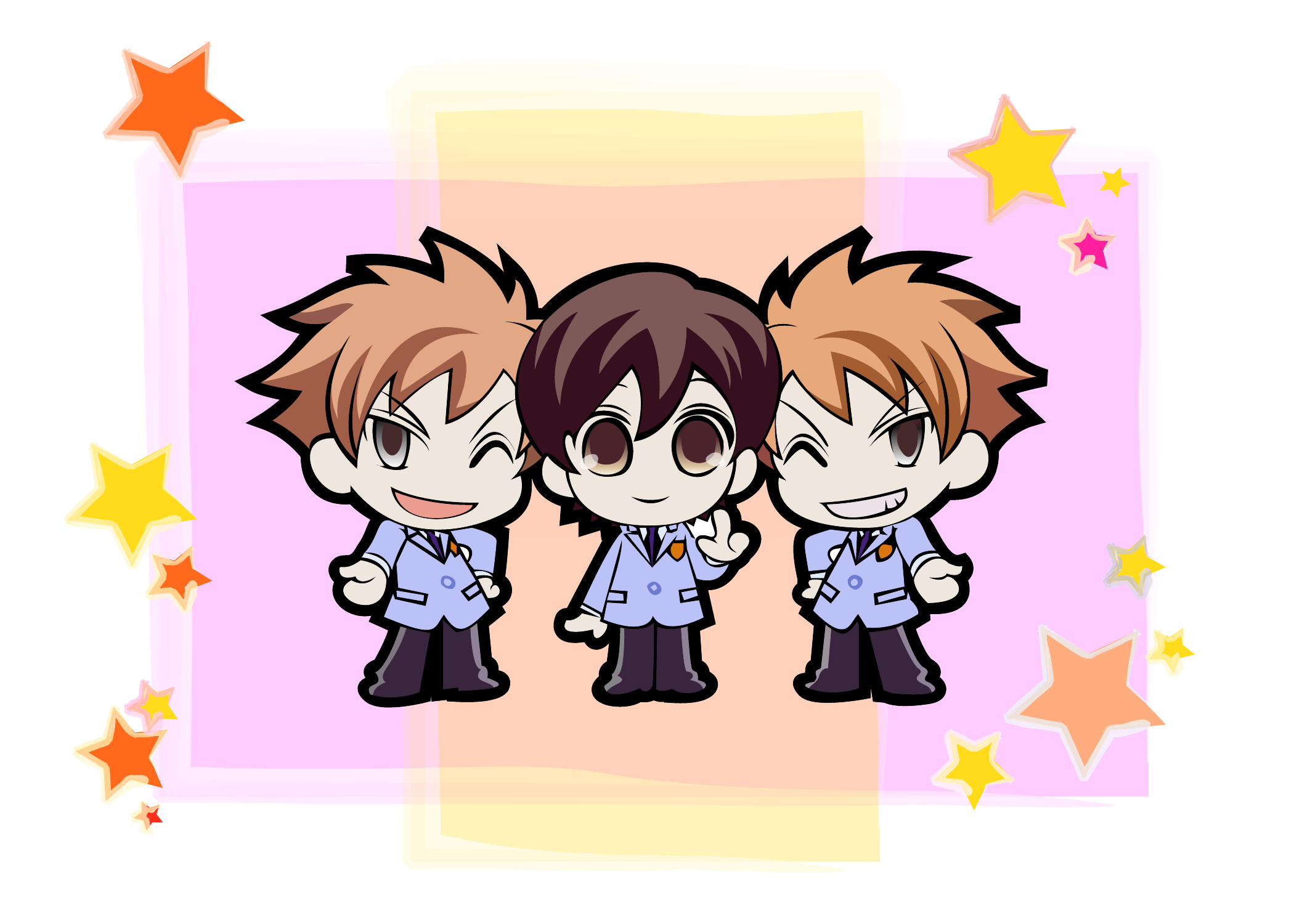 Ouran Host Club - Friends by MargotYvy on DeviantArt
