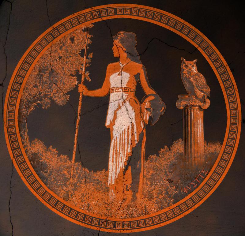 Athena By Margotyvy On Deviantart