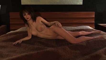 Rebecca's First Nude by RagingCyc0ne