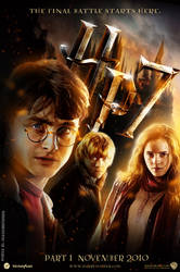 harry potter 7 fan made poster by olrakbustrider