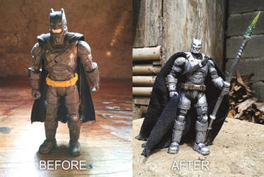 Repainted and Customized Armored Batman