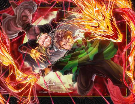 Fire and Blood - Kimetsu no Yaiba