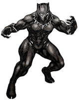 black panther by cva1046