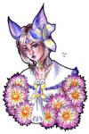 [Trade] Floral Bat by shuu-bunni