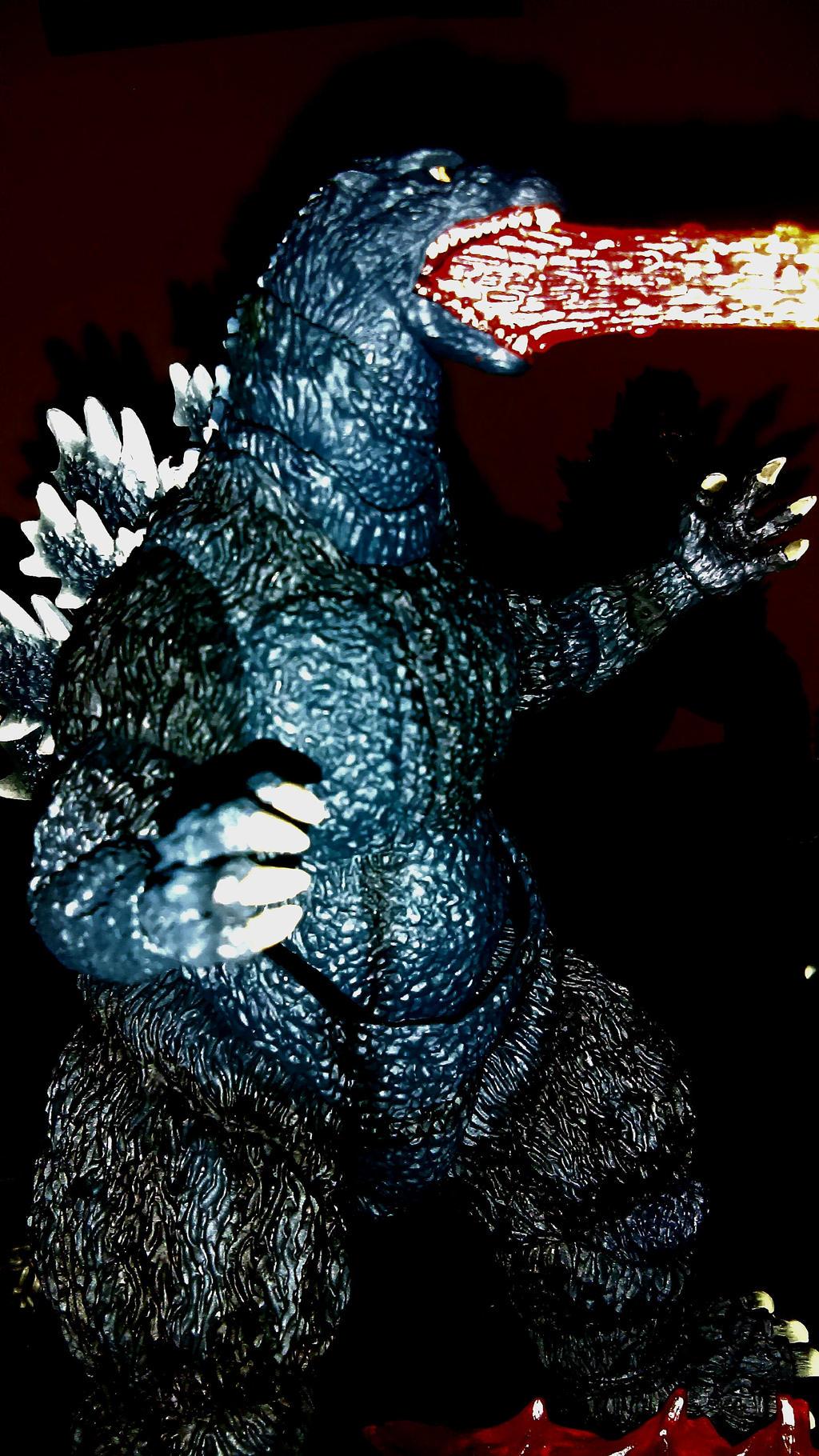 Godzilla 90's Red Atomic Breath by Kongzilla92 on DeviantArt