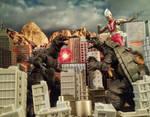 GMK vs Gamera And Ultraman
