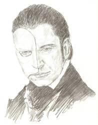 Gerard Butler 'The Phantom' by bcstroud