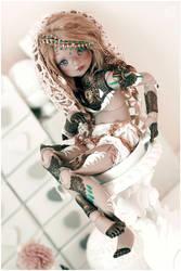 A Knight in shining armor by Bluoxyde