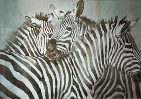 Zebra (watercolor)