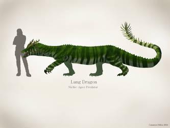 Dragon Concept Art by CameronDillon