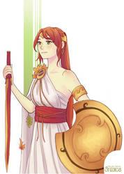 Fall Maiden Pyrrha Version 1 by HoPiuFameStudios