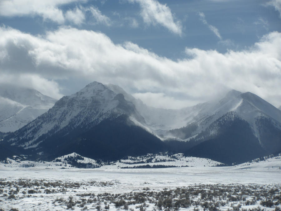 Snowy Mountains 4 by Zepher-Stock