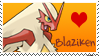 Blaziken Stamp by Shannohn