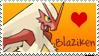Blaziken Stamp by Shannohn