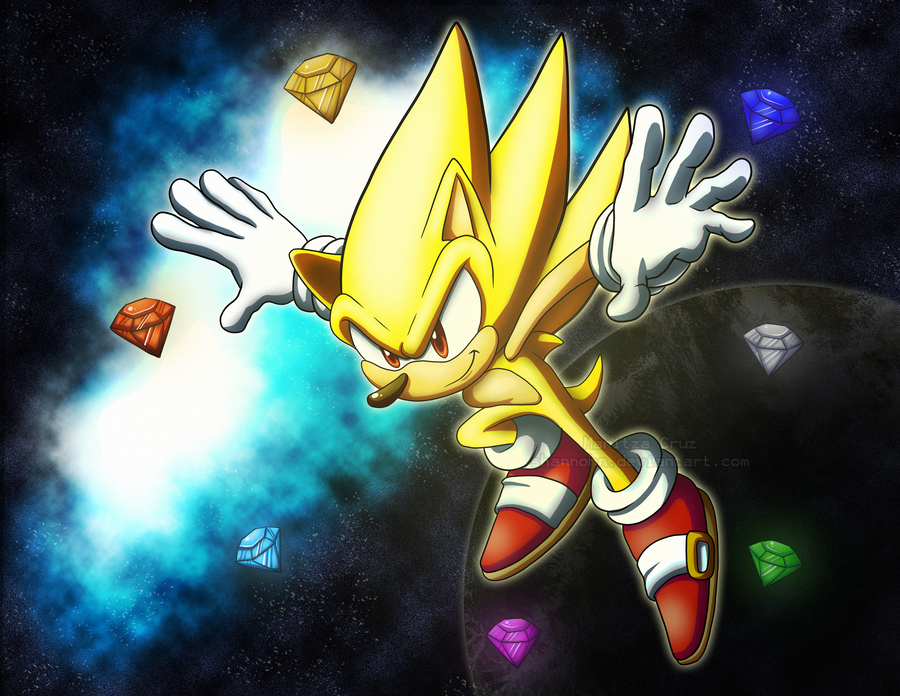 Super Sonic. by Shannohn