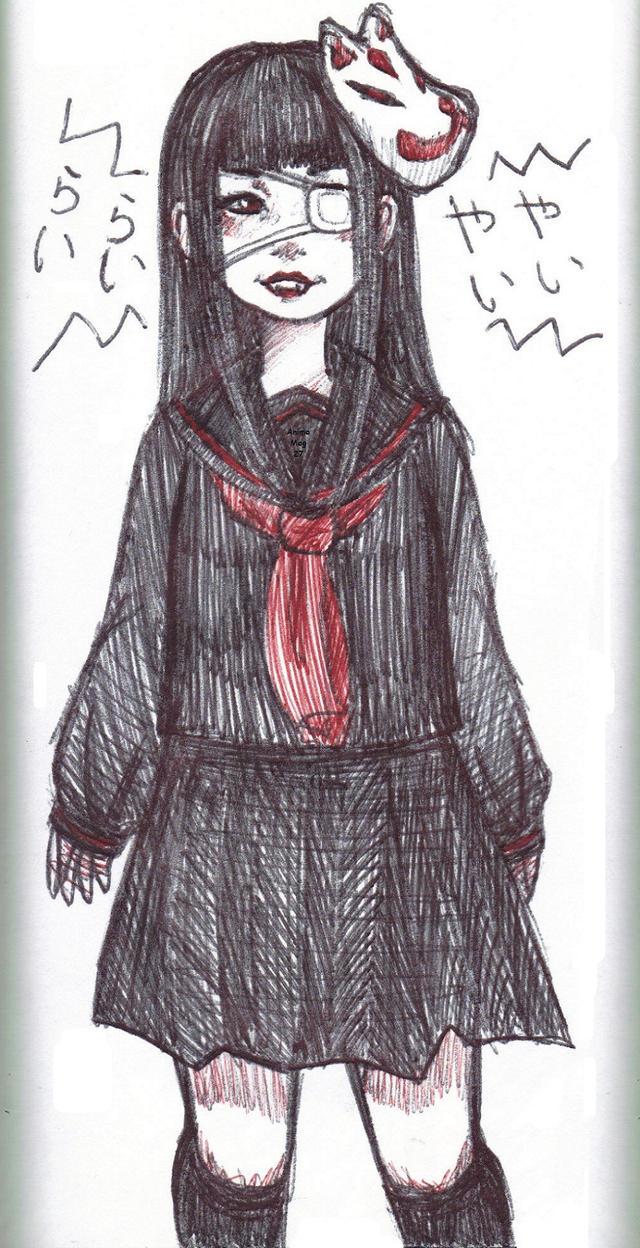 Rasetsu to Mukuro by AnimeMeg27