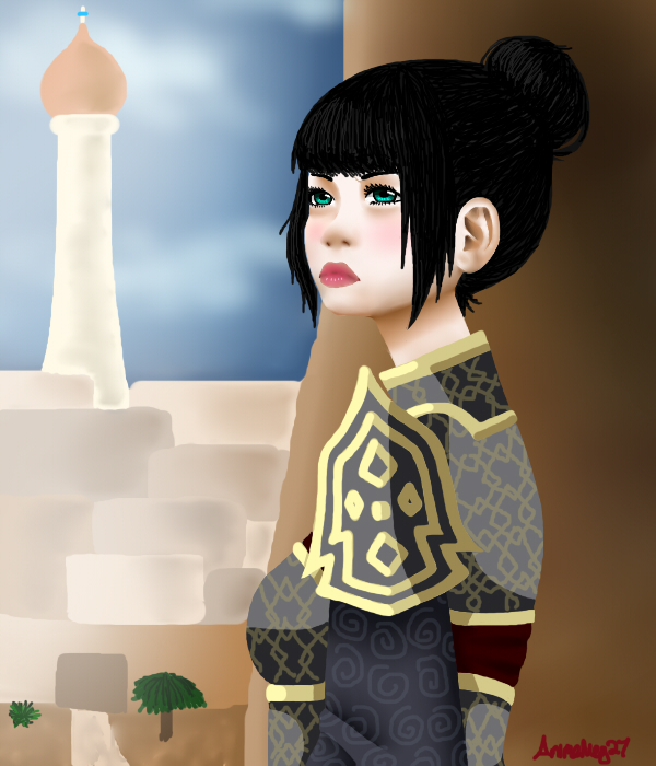 Yasuko Reality by AnimeMeg27