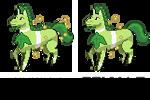 Grass horse second evo