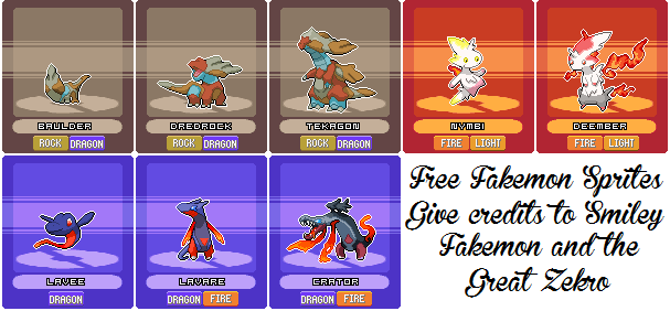 how to make your own fakemon