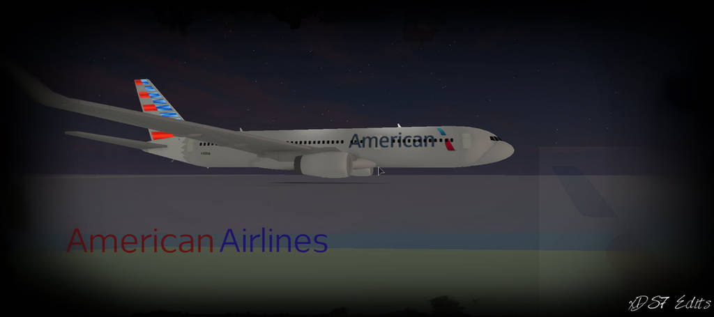 American Airlines Thumbnail Roblox By Xds7edits On Deviantart - roblox airlines