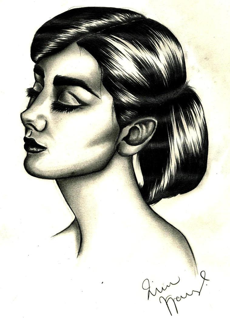Audrey Hepburn by korwis
