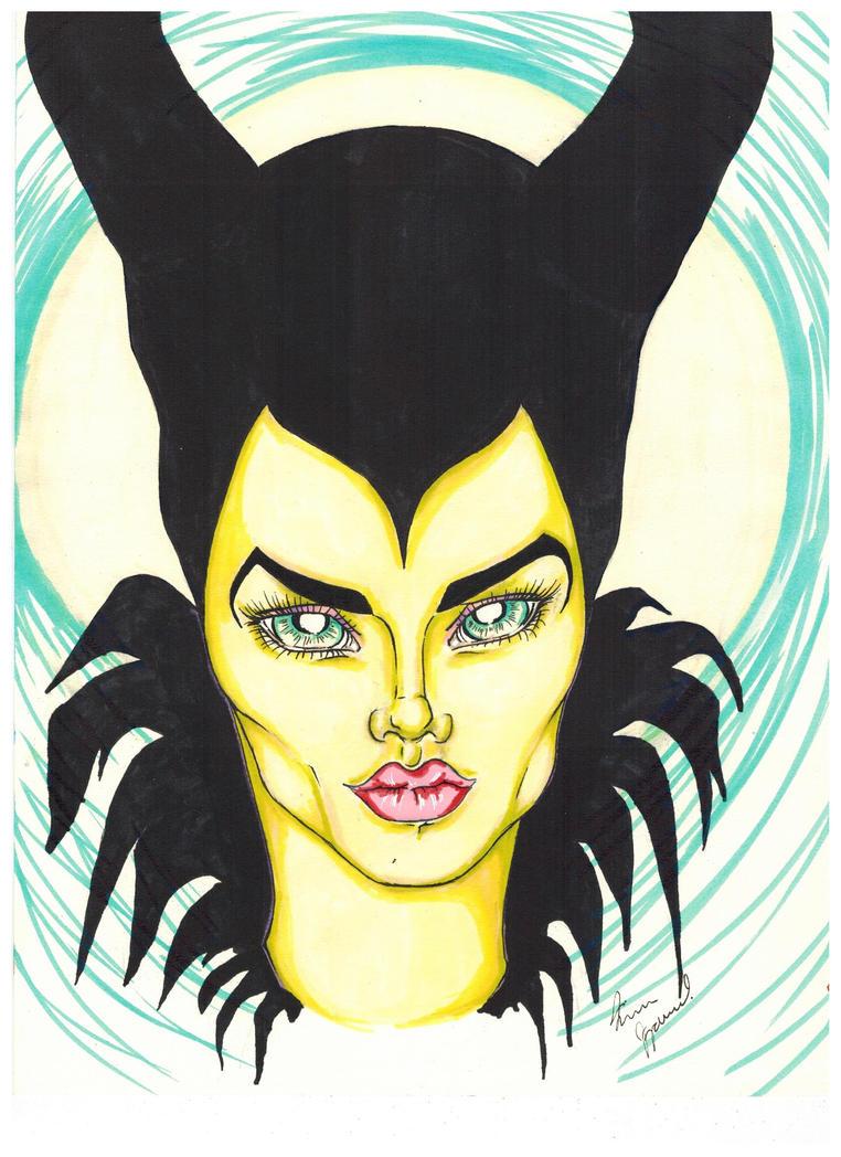Maleficent by korwis