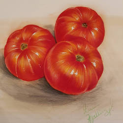 Tomatoes by korwis