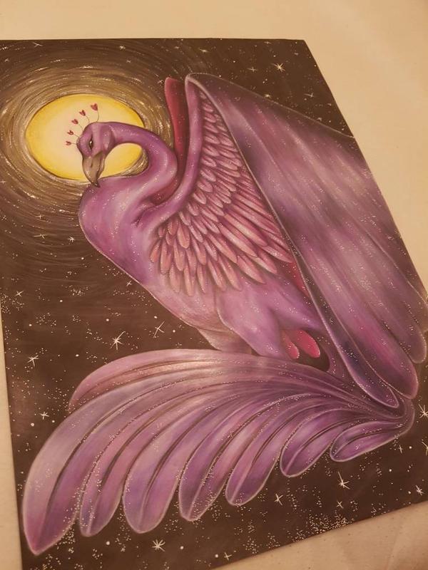 Night Phoenix by korwis