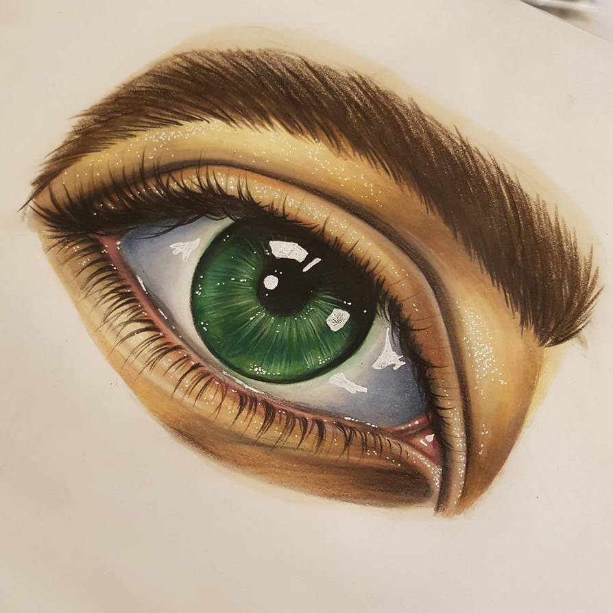 Green eye by korwis