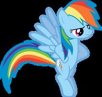 Angry Rainbow Dash by 90Sigma