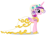 Princess Cadance in Wedding Dress