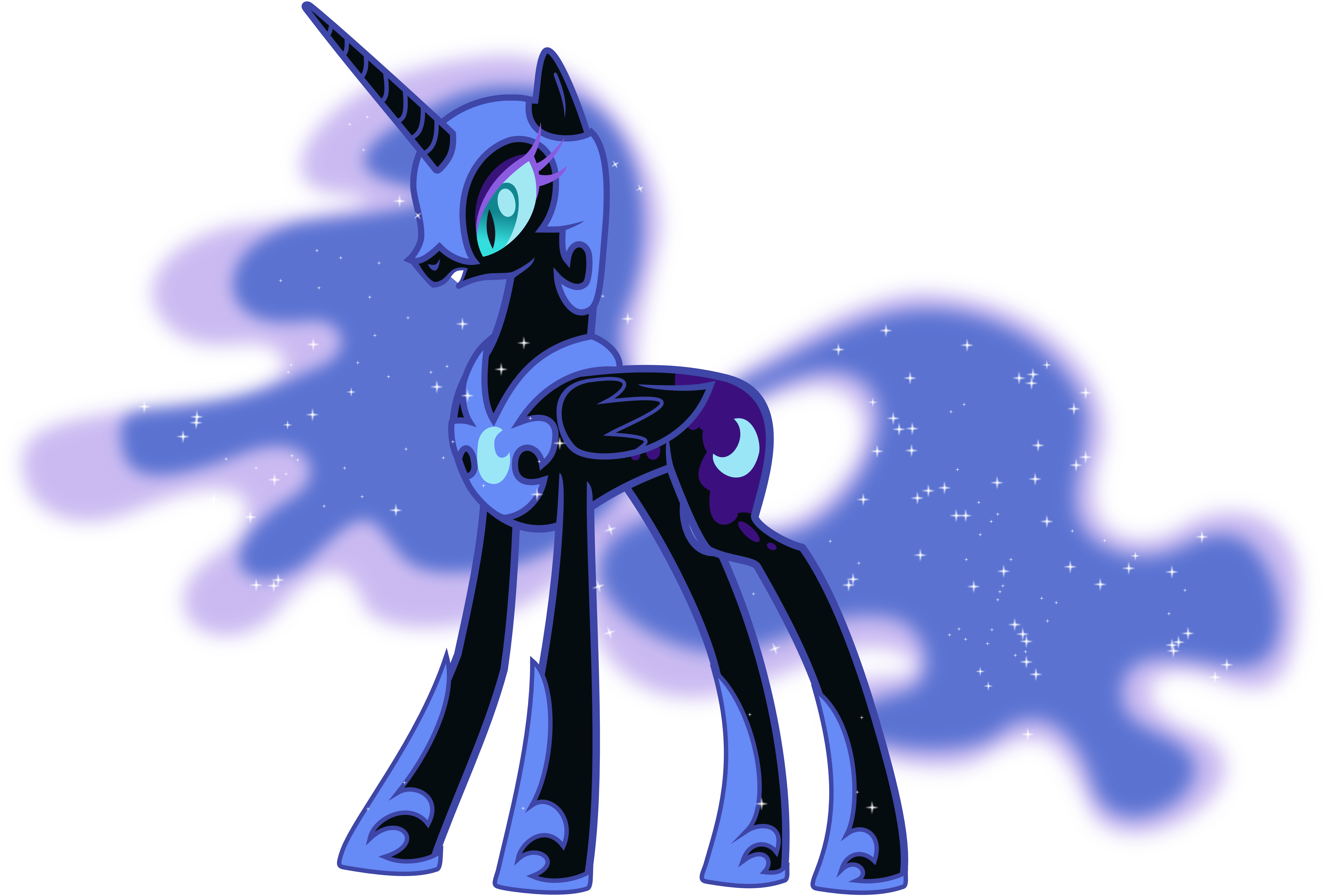 Nightmare Moon as Herself by 90Sigma on DeviantArt