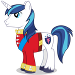 Shining Armour / Armor in Tuxedo (Hoof Version)