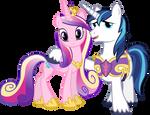 Princess Cadance and Shining Armour