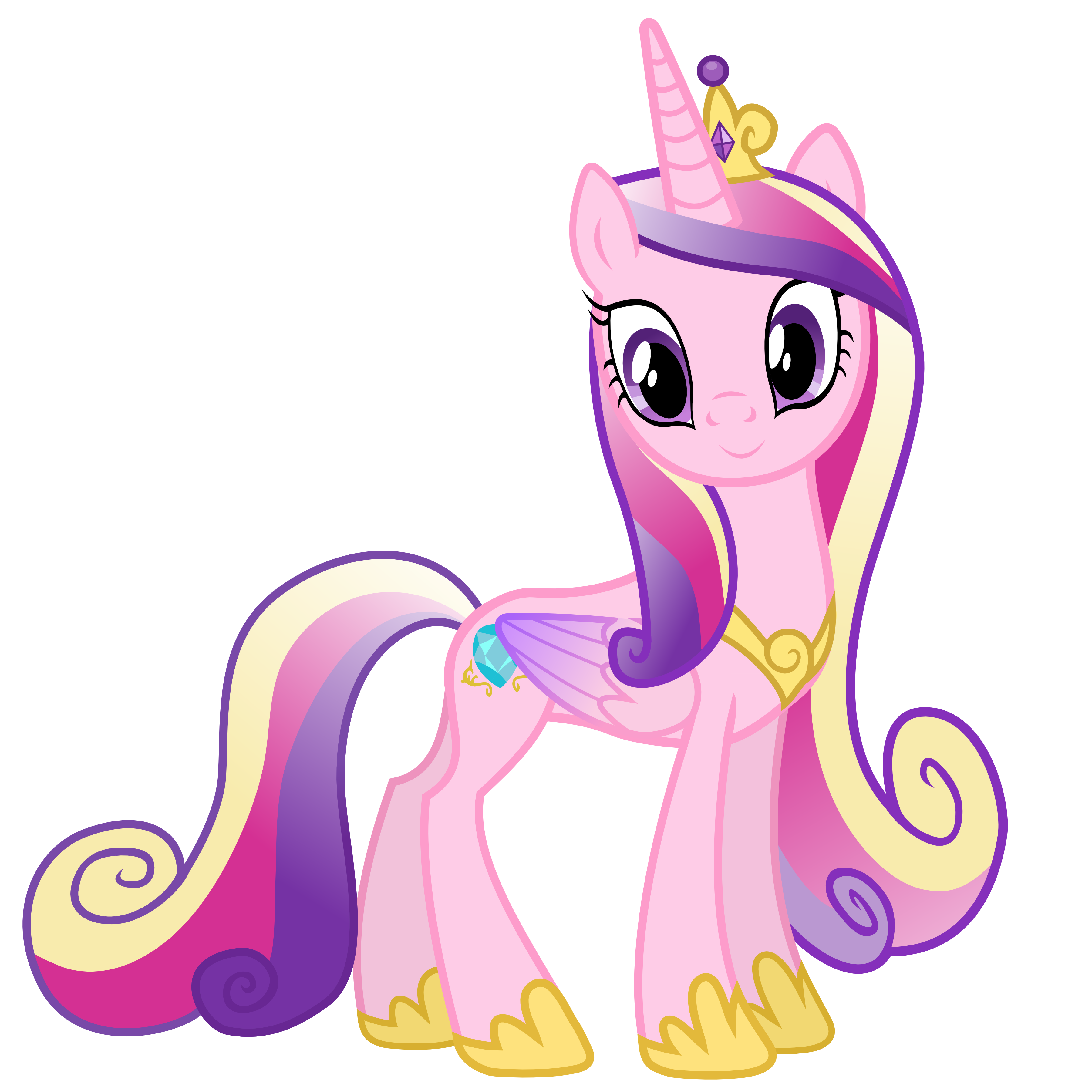 Princess Cadance by 90Sigma