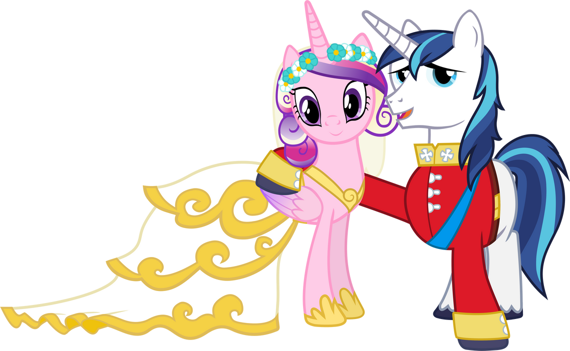 Cadance and Shining (Wedding Version) by 90Sigma