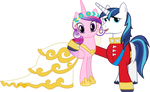 Cadance and Shining (Wedding Version)