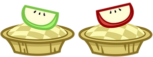 Applejack's Royal Wedding Bitesize Apple Fritters