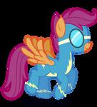 Scootaloo as a Wonderbolt