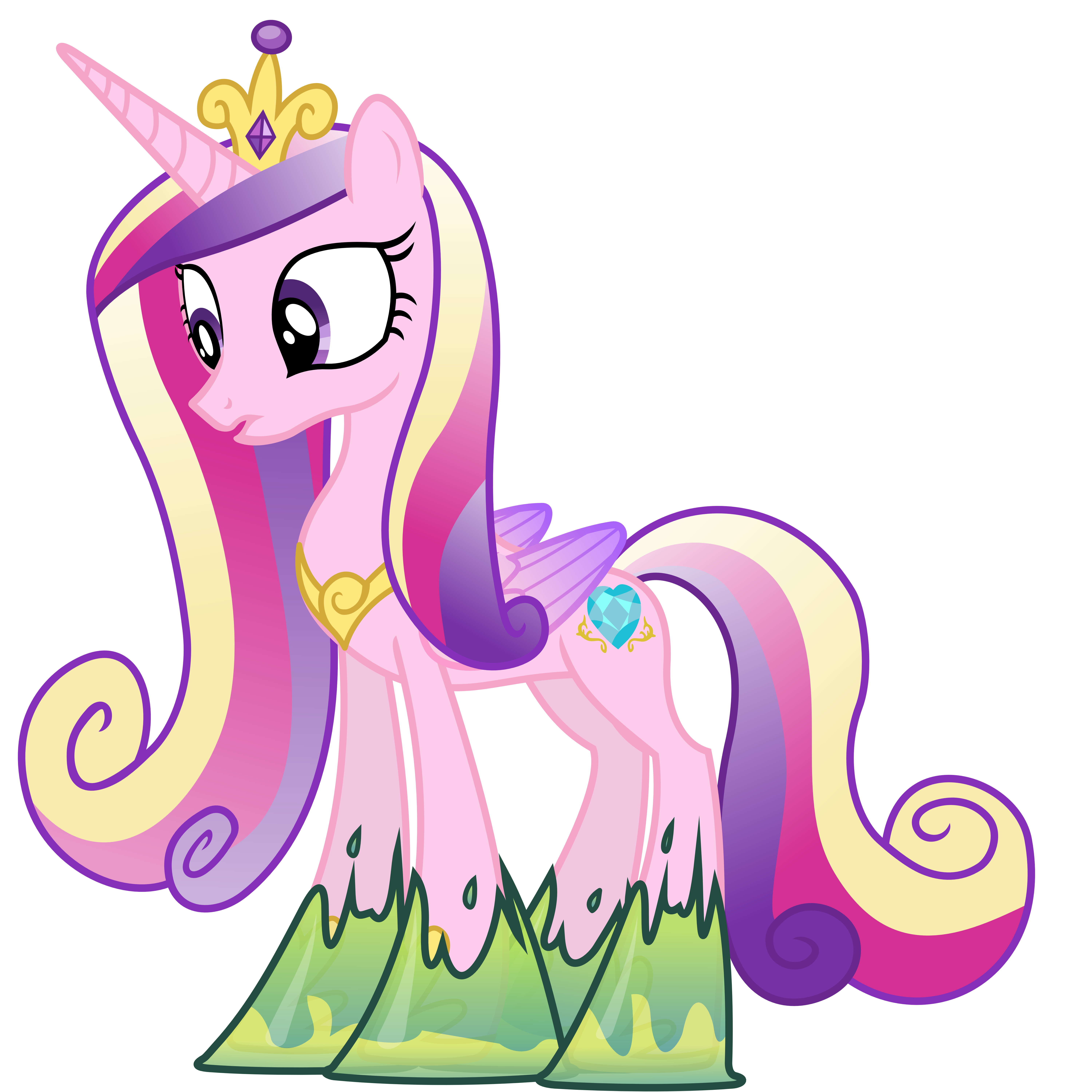 Cadance Trapped in Goop (Normal Cadance Ver.)