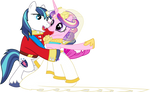 Princess Cadance and Shining Armour Dancing (1)