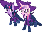Cadance and Twilight as Mare Do Well