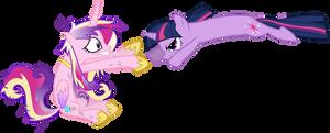 Twilight Sparkle Attacks Princess Cadance