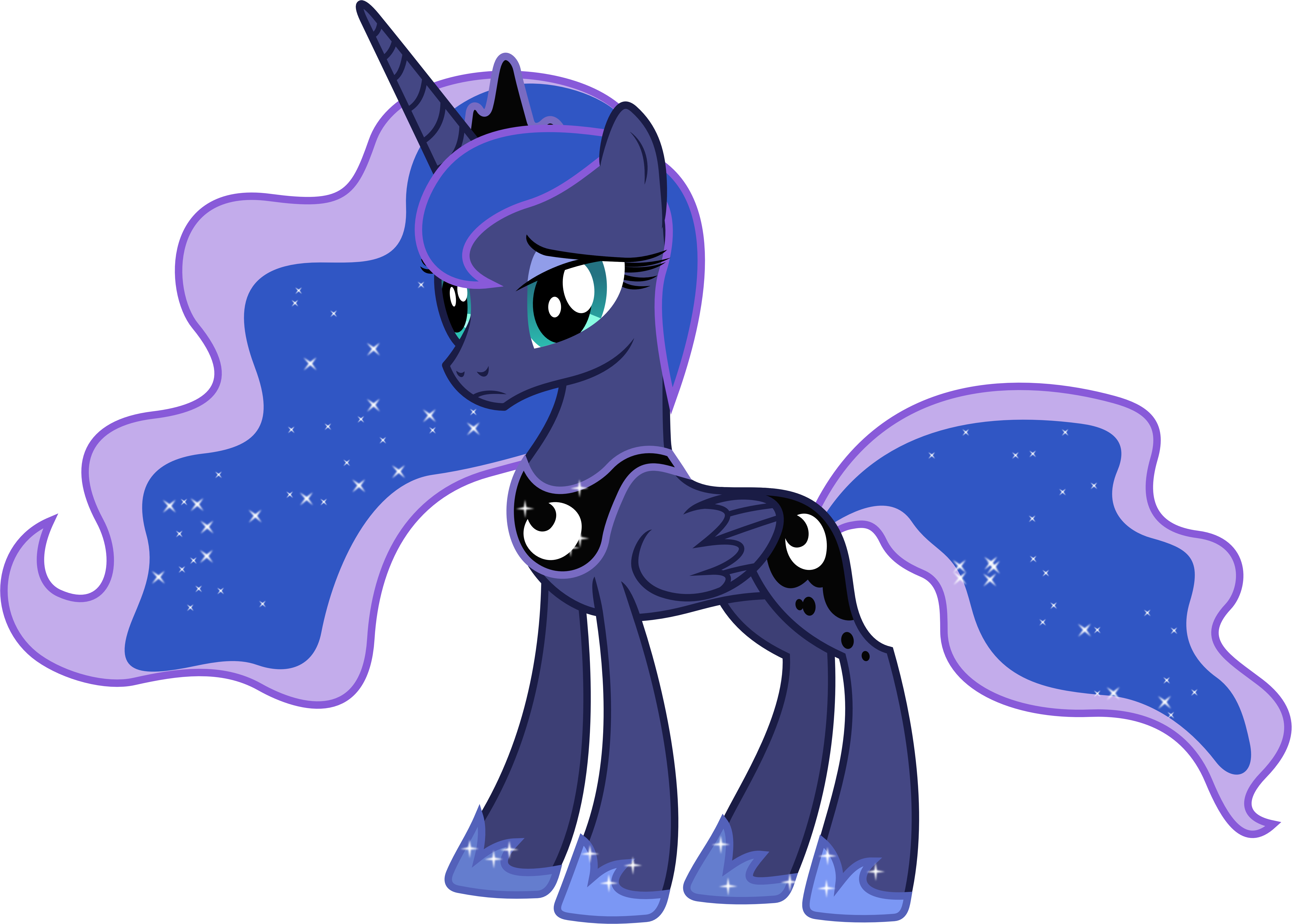Sad Princess Luna by 90Sigma